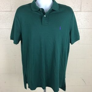 Polo By Ralph Lauren Men's Polo Size XL Green MM10
